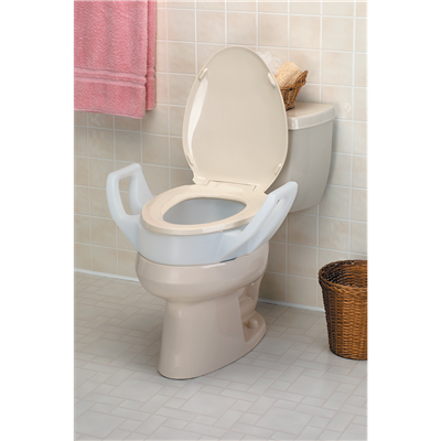 Terrific Premium Seat Riser With Arms For Elongated Toilets Spiritservingveterans Wood Chair Design Ideas Spiritservingveteransorg
